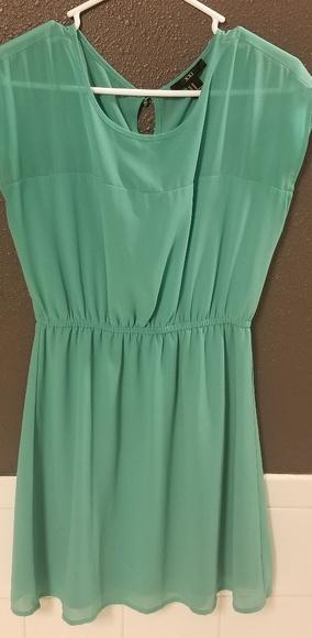Forever 21 Dresses & Skirts - Aqua dress